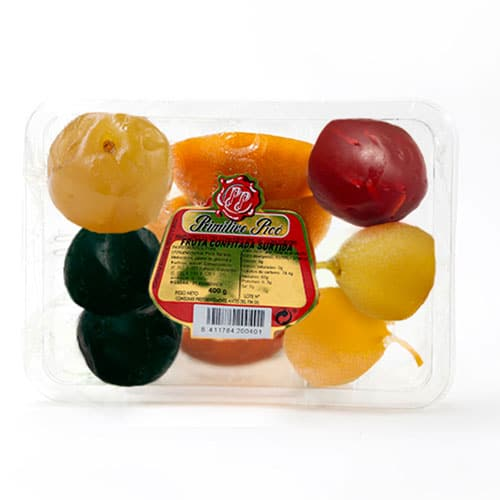 Assorted Candied Fruit Tray 400 gr