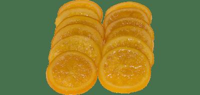 Naranja_glaseada_trozos