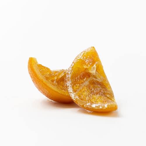 gajos naranja confitada